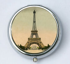 Eiffel Tower pill case pillbox holder pill boxes victorian Paris France