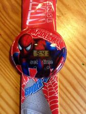 Spider Man Kids Digital Wrist Watch Easy Strap Girls Gift Idea Spiderman