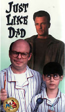 Just Like Dad (VHS, 2000) Family Film