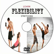 LEARN FLEXIBILITY STRETCHING FOR MIXED MARTIAL ARTS MMA KICKBOXING TRAINING DVD