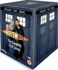 Doctor Who - Series 1 - Complete (DVD, 2005, 5-Disc Set Tardis Box Set) season 1