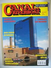 Canal & Riverboat magazine. Vol. 23. No. 8. August, 2000. Dudley & Netherton.
