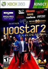 Yoostar 2 In the Movies BRAND NEW Microsoft Xbox 360 KINECT GAME