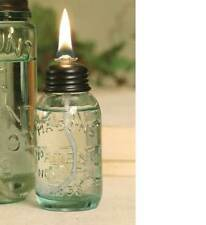 Mason Jar Table Oil Lamp Dinner
