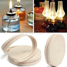 White Flat Cotton Oil Lamp Wick 15foot Roll For Oil Lamps and Lanterns 3/4''
