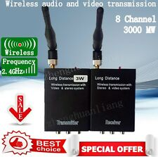 2.4g 3W High Power Wireless Transmitter and receiver Audio Video