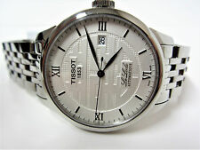 Tissot Le Locle Double Happiness Mens Automatic Stainless Steel Watch T41183350