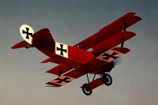 1/8 Scale German WW-I Fokker DR-1 Triplane Plans and Templates