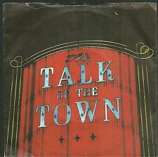 """7A2 140623 used vinyl 7"""" THE PRETENDERS TALK OF THE TOWN - CUBAM SLIDE"""