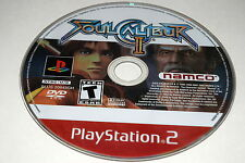Soul Calibur II Sony Playstation 2 PS2 Video Game Disc Only