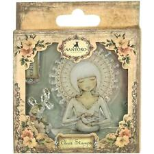 "SANTORO MIRABELLE Cling Mount Stamps ""THE MESSENGER"" - WHIMSY - LIMITED SUPPLY"