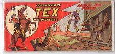 TEX STRISCIA - II ° - 2 ° SERIE - N° 52 - DUELLO SUL TRENO - ORIGINALE !!