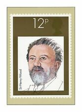 SIR HENRY WOOD BBC PROMS MUSIC CONDUCTORS PHQ 46 ROYAL MAIL STAMP CARD