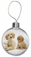 Poodle and Cockerpoo Christmas Tree Bauble Decoration Gift, AD-CP2CB