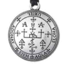 1 x pagan wicca gothique viking talisman archange uriel Enochien amulette talisman