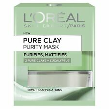 L'Oreal Paris Pure Clay Purity Mask, Green 50 ml
