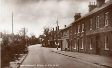 Buckingham Road Bletchley Pub Nr Milton Keynes unused RP old pc Valentines