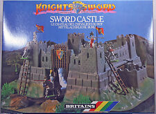 """Britains Deetail 7791 Sword Castle """"Knights of the Sword"""" - mint in unopened MIB"""