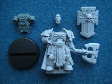 40K SPACE MARINE CAPTAIN COMMANDER CHAPTER MASTER IN POWER ARMOUR **NEW** (P2)