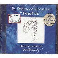 DOMENICO MODUGNO - Inedito - LUIS BACALOV CD 1997 FUORI CATALOGO SIGILLATO