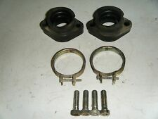 1977 Polaris Electra 440 Wide Track Rubber Carburetor Intake Boots and Clamps