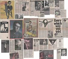 ELVIS COSTELLO : CUTTINGS COLLECTION -interviews- 70s/80s