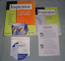 Inspiration: Version 6 - PC/Mac Computer Software CD in Box w/Serial Number RARE