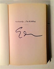 Seriously...I'm Kidding  Ellen DeGeneres (2011, Hardcover) SIGNED!!! 1st Edition