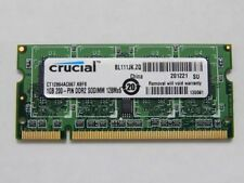 rucial PC2-5300 1 GB SO-DIMM 667 MHz DDR2 SDRAM Memory (CT12864AC667)