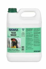 Nikwax Tech Wash 5 Litre Wash-in Cleaner Waterproof Outdoor Clothing & Equipment