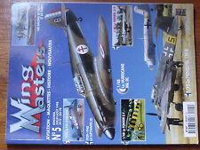 $$y Revue Wing Masters N°5 Hurricane Mk IIC  Heinkel 219  Henschel 129-B