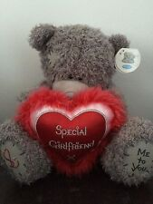 "NEW 11"" ME TO YOU TATTY TEDDY PLUSH ~ SPECIAL GIRLFRIEND RED FLUFFY LOVE HEART"