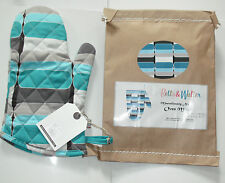 100% Cotton Oven Glove Mitt by Betty & Walter.Baking,Cooking.2 Designs. RRP £10