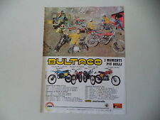 advertising Pubblicità 1978 BULTACO PURSANG/SHERPA T TRIAL/ALPINA/FRONTERA