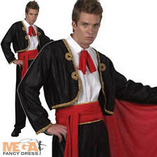 Matador Spanish Bull fighter Men's Fancy Dress Adult Costume National Uniform