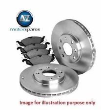 FOR HONDA CRZ 1.5i HYBRID 2010--  NEW FRONT BRAKE DISCS SET AND DISC PADS KIT