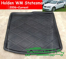 FOR 06UP WM HOLDEN STATESMAN CAPRICE REAR TRUNK TRAY BOOT LINER CARGO FLOOR MAT