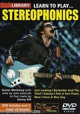 LICK LIBRARY Learn To Play STEREOPHONICS Have a Nice Day POP Lesson Guitar DVD