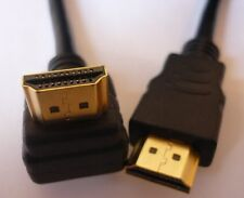 High Speed HDMI cable with Ethernet 16 2/5ft 90 Degrees angled / angled NEW