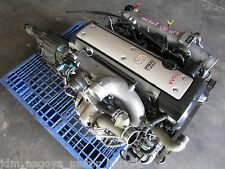 JDM Toyota 1JZ GTE vvti 2.5L Turbo Engine Front Sump, Chaser JZS171 Motor A/T