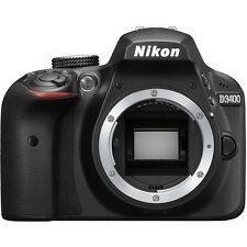 Nikon D3400 Digital SLR Camera Body - BRAND NEW - (Latest Model)