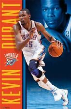 "KEVIN DURANT POSTER ""BRAND NEW"" LICENSED ""OKLAHOMA CITY THUNDER""  NBA ""NO. 35"""