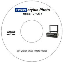 EPSON PX720WD WASTE INK ERROR COUNTER PAD RESET REPAIR CD DVD FOR WINDOWS 7 8 10