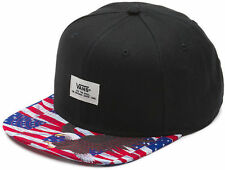 Vans WALMER - Mens Snapback Hat (NEW) Free Bird AMERICANA Eagle USA FLAG America
