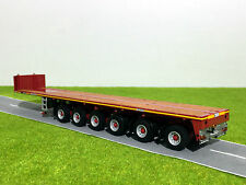 WSI TRUCK MODELS,GOLDHOFER BALLAST TRAILER 6 AXLE,1:50