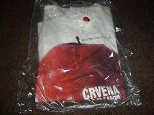 Crvena Jabuka (White Shirt) Size XL