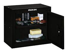 Pistol/Gun/Cash Security Safe Steel Storage Box Black Home Office