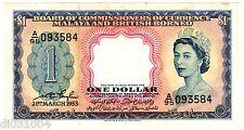 MALAYA and BRITISH BORNEO 1 $ DOLLAR 21/03/ 1953 Q. ELIZABETH 2 AU / QUASI NEUF