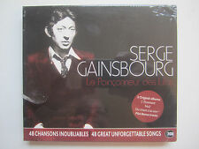 SERGE GAINSBOURG - LE POINCONNEUR DES LILAS NEW CD BOXSET Du chant L'Etonnant