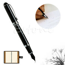 New JINHAO X750 FOUNTAIN PEN Black shimmering sands Medium NIB